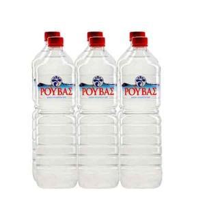 Νερό Ρούβας 1,5L εξάδα