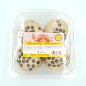Cookies με σταγόνες σοκολάτας Μαλεβιζιώτικα