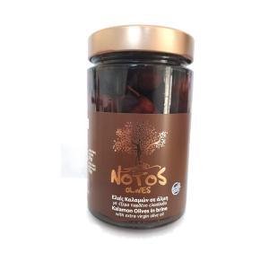 Ελιές Καλαμών Notos σε Άλμη & Ξύδι με έξτρα Παρθένο Κρητικό Ελαιόλαδο