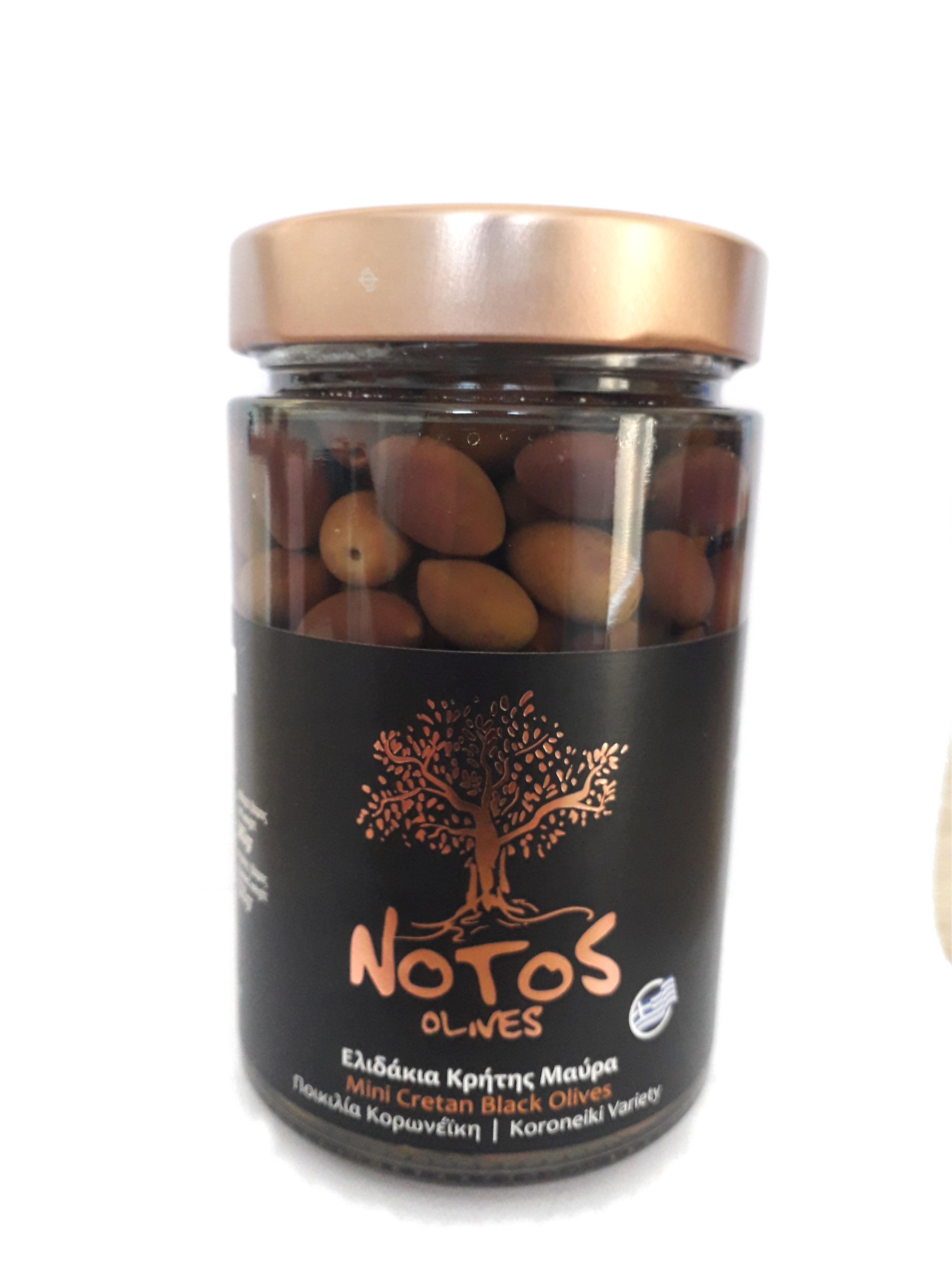 Ελιδάκια Κρήτης Μαύρα Notos (Ποικιλία Κορωνέικη)