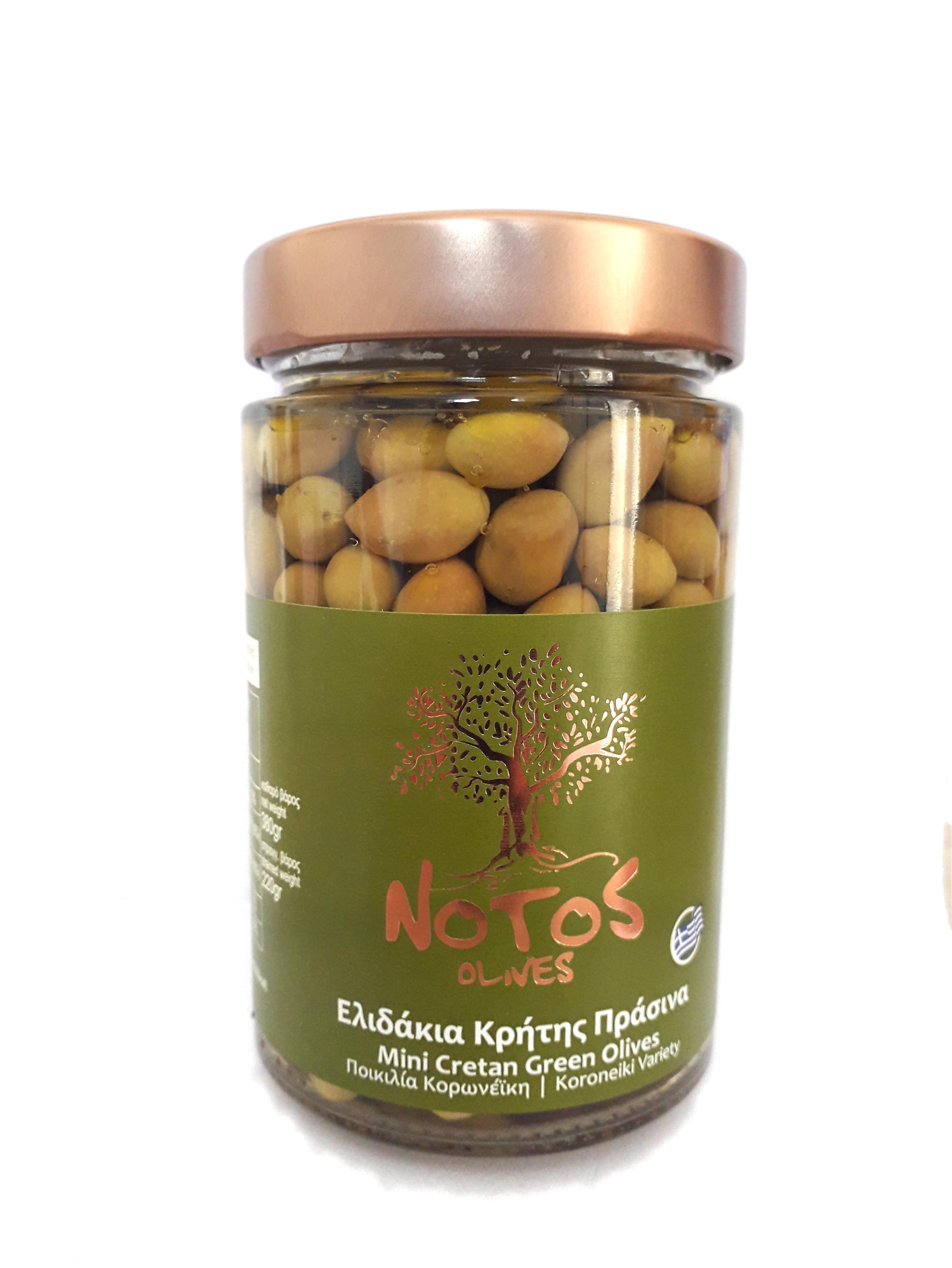 Ελιδάκια Κρήτης Πράσινα Notos (Ποικιλία Κορωνέικη)
