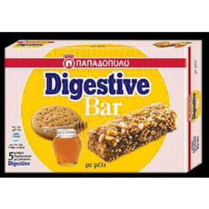 Μπάρα Δημητριακών Digestive με μέλι