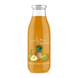 Smoothie Αχλάδι-Μάνγκο-Ανανάς Simply Fruit 250ml