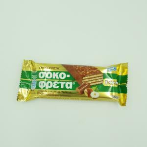 Σοκοφρέτα Σοκολάτα-Φουντούκι ΙΟΝ 38gr