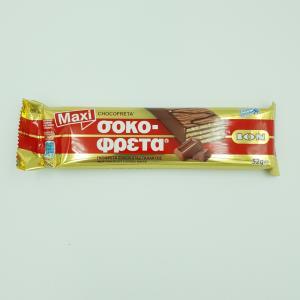 Σοκοφρέτα Σοκολάτα Γάλακτος ΙΟΝ 52gr