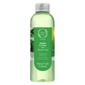 Fresh Line Green Summer Cocktail Mojito & Lime - Αναζωογονητικό  και τονωτικό Aφρόλουτρο με Μοχίτο & Λαϊμ 200ml