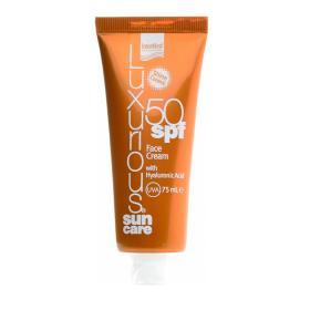 Intermed Luxurious Sun Care, Κρέμα Προσώπου SPF50 με Υαλουρονικό Οξύ 75ml