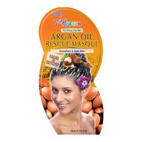 7th heaven Argan Oil Hair Mask, Μάσκα μαλλιών κατά του φριζαρίσματος με αργανέλαιο 25ml