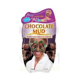 7th Heaven Chocolate Mud face mask. Σοκολατένια μάσκα καθαρισμού προσώπου 20ml
