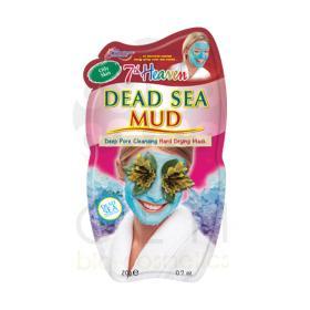 7th Heaven Μάσκα προσώπου λάσπης καθαρισμού dead sea με ευεργετικά συστατικά από τη νεκρά θάλασσα 20ml