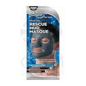 7th Heaven Dead sea rescue mud masque for men - Ανδρική Μάσκα Λάσπης με φύκια από τη νεκρά 15ml