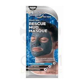 7th Heaven Dead sea rescue mud masque for men - Ανδρική Μάσκα Λάσπης με φύκια από τη νεκρά 15ml
