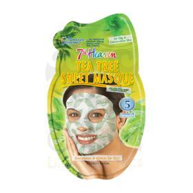 7th heaven Tea Tree Sheet mask Υφασμάτινη Μάσκα Τεϊόδεντρου