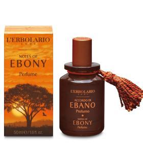 L'erbolario Perfume Notes of Ebony. H γοητεία του Εβένου. Το τέλειο άρωμα για κάθε άνδρα 50ml
