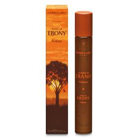 L'erbolario Notes of Ebony Perfume. H γοητεία του Εβένου. Το τέλειο άρωμα για κάθε άνδρα 15ml