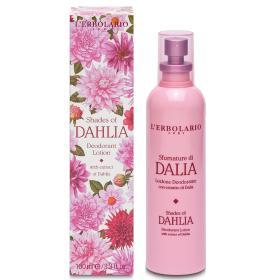 L'erbolario Shades of Dahlia Deodorant Lotion. Αποσμητική Λοσιόν με εκχύλισμα Ντάλιας 100ml