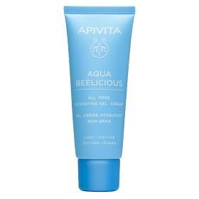 Apivita Aqua Beelicious Oil-Free Κρέμα- Gel Ενυδάτωσης ελαφριάς υφής 40ml
