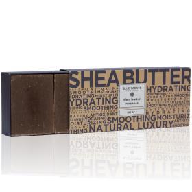 Blue Scents Set Soap Shea Butter, Σετ Σαπουνιών με Βούτυρο Καριτέ, 3τμχ