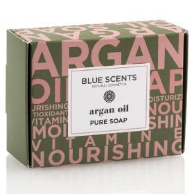 Blue Scents Σαπούνι πλακέ Argan Oil, 135gr