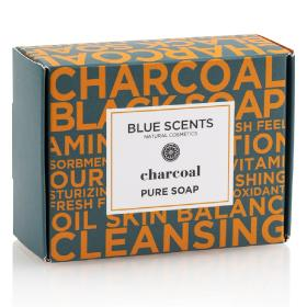 Blue Scents Σαπούνι πλακέ Charcoal, 135gr