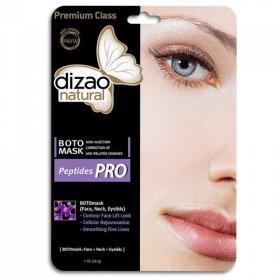 Dizao Natural Boto Mask peptide PRO, Εμποτισμένη Υφασμάτινη Μάσκα προσώπου με πεπτίδια 1τμχ