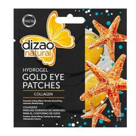 Dizao Natural HydroGel Eye Mask Collagen. Μάσκα Ματιών με Κολλαγόνο 100%, 1 ζευγάρι