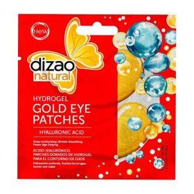 Dizao Natural HydroGel Eye Mask Hyaluronic acid. Μάσκα Ματιών με Υαλουρονικό 100%, 1τμχ