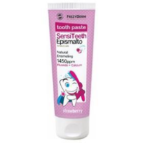 Frezyderm SensiTeeth Epismalto Toothpaste 1.450ppm Οδοντόκρεμα Φυσικής Επισμάλτωσης για Παιδιά από 6 ετών, 50ml