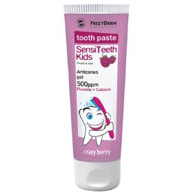 Frezyderm SensiTeeth Kids Toothpaste 500ppm Παιδική Οδοντόπαστα Κατά της Τερηδόνας, 50ml