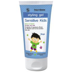 Frezyderm Sensitive Kids Styling Gel for Boys, Ζελέ για τα μαλλιά, 100ml