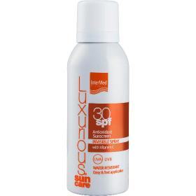 Intermed Luxurious Suncare Antioxidant Sunscreen Invisible Spray SPF 30 Με Βιταμίνη C, 100ml