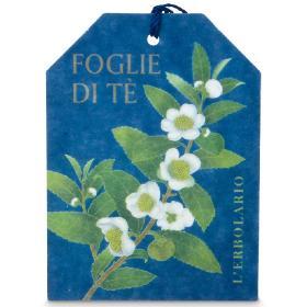 L'erbolario Foglie di Tè, Αρωματική κάρτα για συρτάρια, 2τμχ.