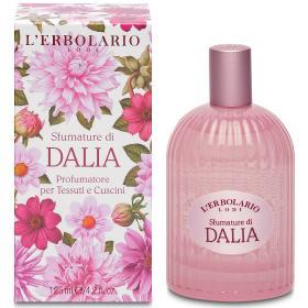 L'erbolario Shades of Dahlia, Αρωματικό spray για το χώρο και τα υφάσματα Sfumature di Dalia 125ml