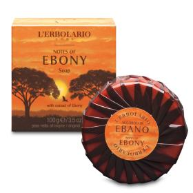 L'erbolario Notes of Ebony Soap, Σαπούνι Με εκχύλισμα Εβένου 100gr