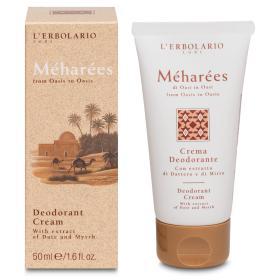 L'erbolario Meharees Αποσμητική Κρέμα, Crema Deodorante Meharees, 50ml