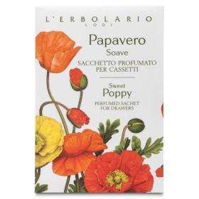 L'erbolario Papavero Soave Αρωματικά σακουλάκια για συρτάρια Papavero