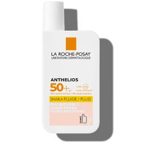 La Roche Posay Anthelios Invisible Tinted Fluid SPF 50+, Αντηλιακή Κρέμα Προσώπου με Χρώμα, 50ml