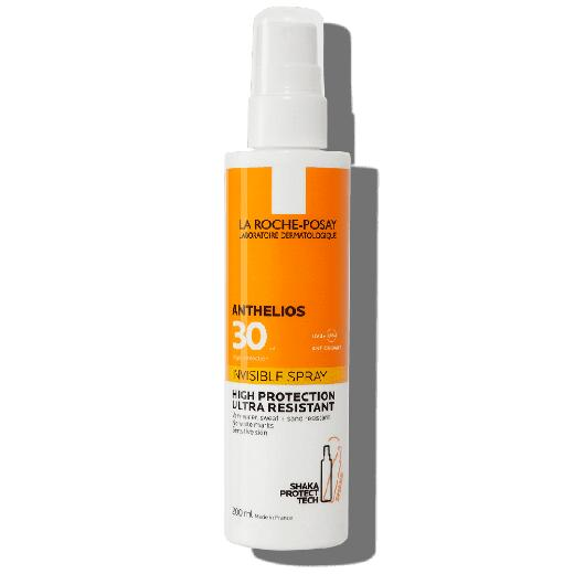 La Roche Posay Anthelios Invisible Spray SPF30, Αντηλιακό Σώματος, 200ml