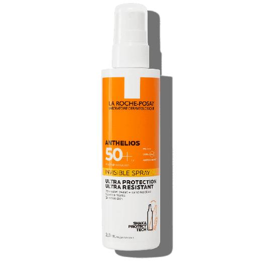 La Roche Posay Anthelios Invisible Spray SPF50+, Αντηλιακό Σώματος, 200ml