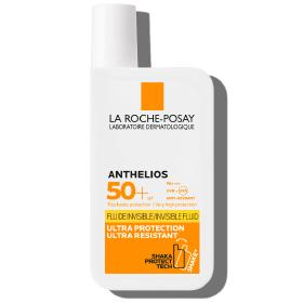 La Roche Posay Anthelios Invisible Fluid SPF 50+, Αντηλιακή Κρέμα Προσώπου, 50ml