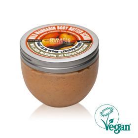 Mastic Origins Wild Mandarin Body Butter Scrub. Βουτυρένιο απολεπιστικό σώματος για πολυ ξήρες και ευαισθητές επιδερμίδες 300ml / 10 Fl.oz