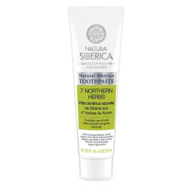 Natura Siberica Toothpaste «7 northern herbs» Natural Siberian toothpaste, to remove plaque, maintain the health of teeth and gums, and cool breathing 100gr.
