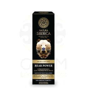 Natura Siberica Men Bear Power face cream, Σούπερ Εντατική Αντιρυτιδική κρέμα προσώπου, 50ml