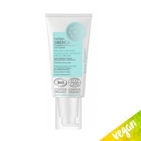 Natura Siberica Hydrolate, Organic Certified Invigorating day & night cream, dry skin, Suitable for age 22+ 50ml