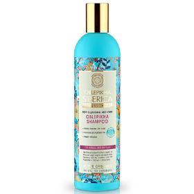 Natura Siberica Oblepikha Shampoo for normal and oily hair, Σαμπουάν βαθύς καθαρισμός και φροντίδα, για κανονικά και λιπαρά μαλλιά, 400ml.