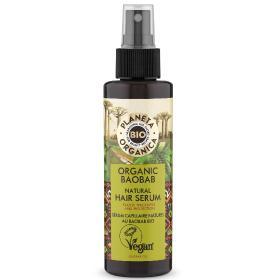 Planeta Organica Ορός μαλλιών με έλαιο Baobab, για ενδυνάμωση και ενίσχυση, 150ml