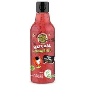 Planeta Organica Vegan Skin Super Good «Toning», Φυσικό Αφρόλουτρο «Τόνωσης», Guarana και Σπόρους Βασιλικού, 250 ml