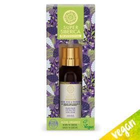 Natura Siberica Super Siberica Kedr, Rose and Proteins Fluid-Filler, Σταγόνες για πολυδιάστατο όγκο, για αδύναμα μαλλιά, 50ml