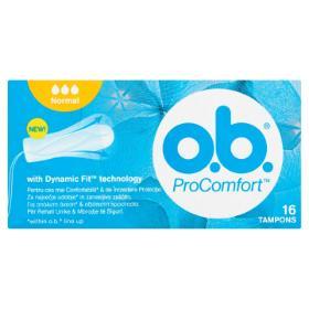 O.B. ProComfort Normal Ταμπόν Κανονικής Ροής, Dynamic Fit, 16τμχ.