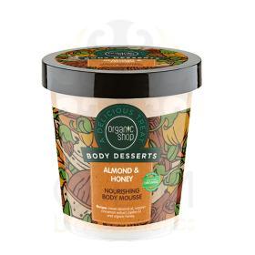 Organic Shop Body Desserts Almond & Honey , Αμύγδαλο & Μέλι Μους θρέψης σώματος. 450 ml